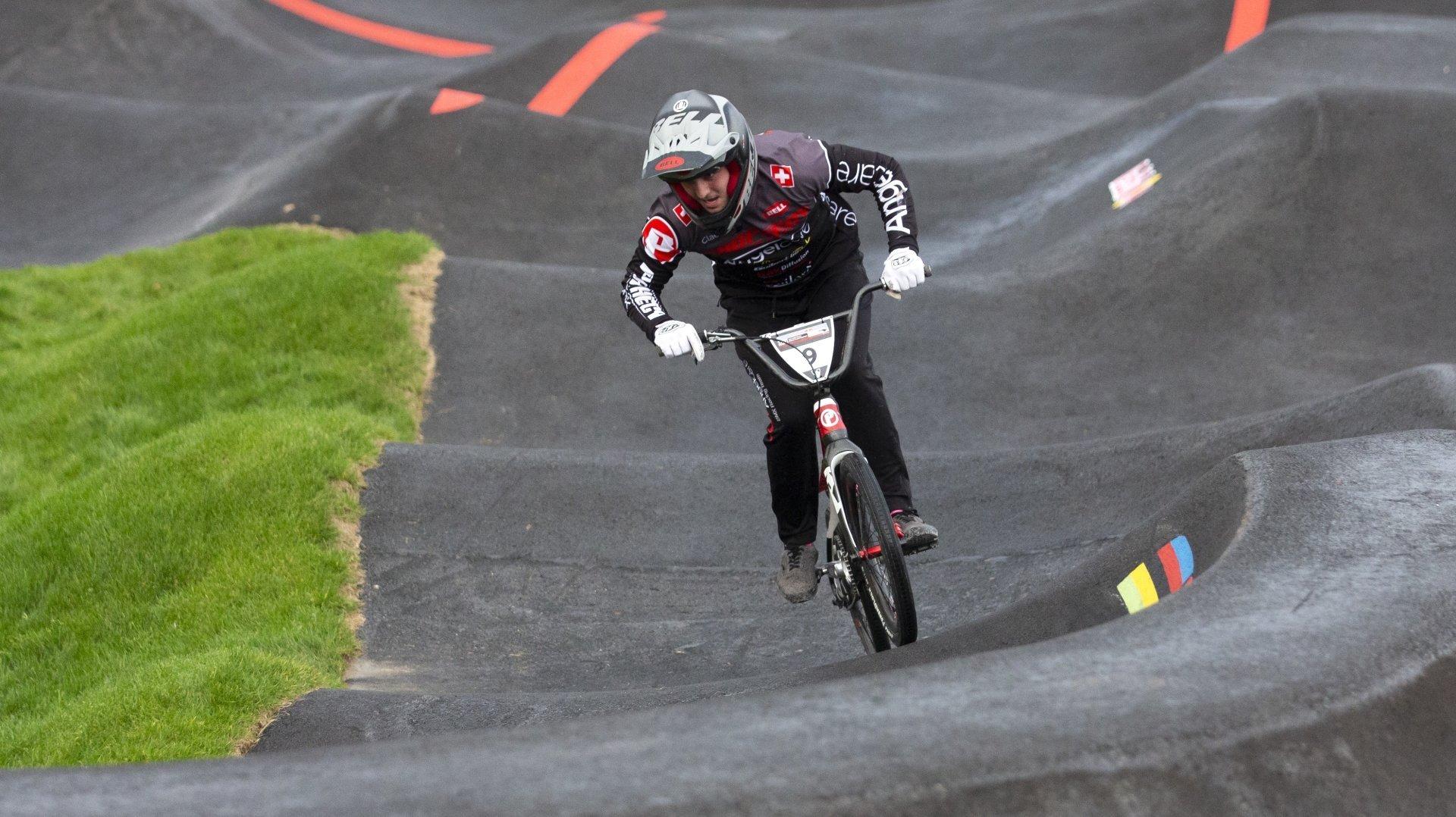 L'Echichanais Tristan Borel premier champion suisse de pumptrack