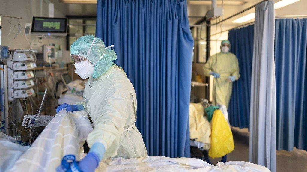 Coronavirus: situation tendue aux soins intensifs