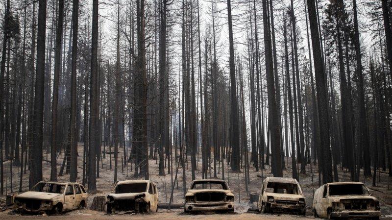 Nouveau feu de forêt hors de contrôle dans le nord de la Californie