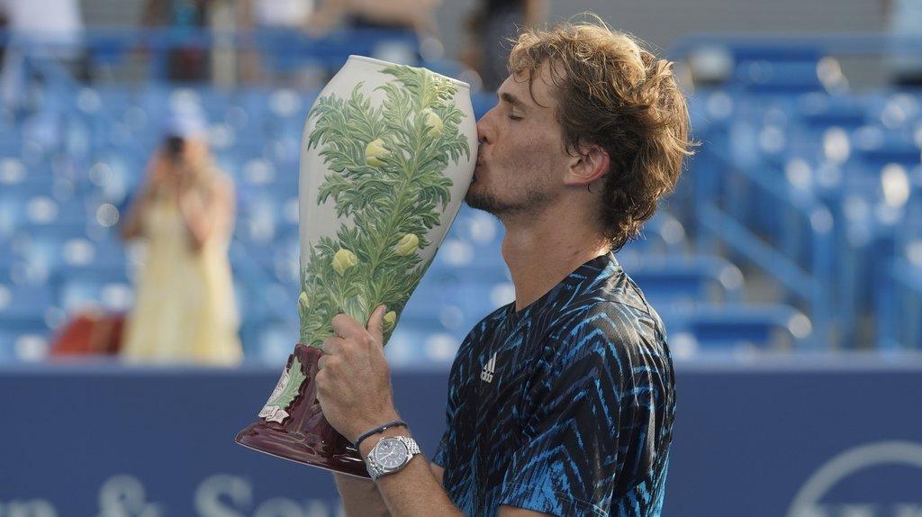 Tennis - Masters 1000 de Cincinnati: Zverev titré