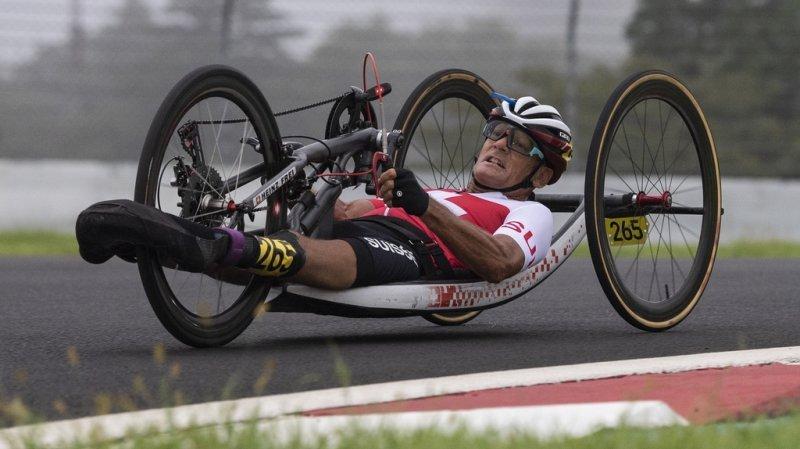 Jeux paralympiques: Heinz Frei décroche l'argent dans la course en ligne