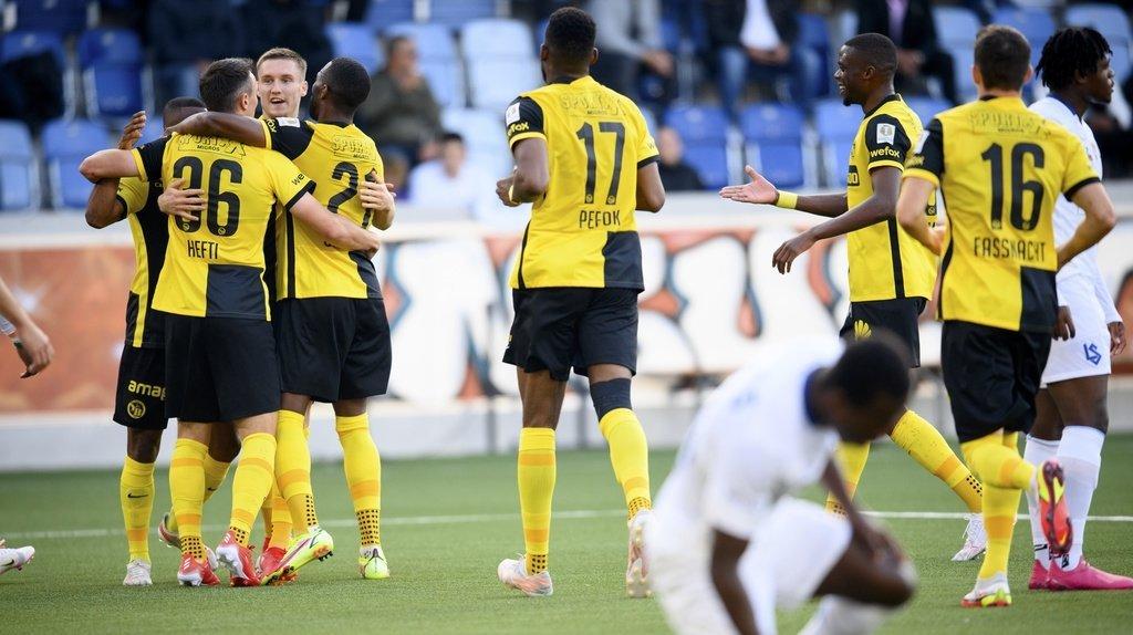 Football: Young Boys écrase Lausanne-Sport 6 à 1