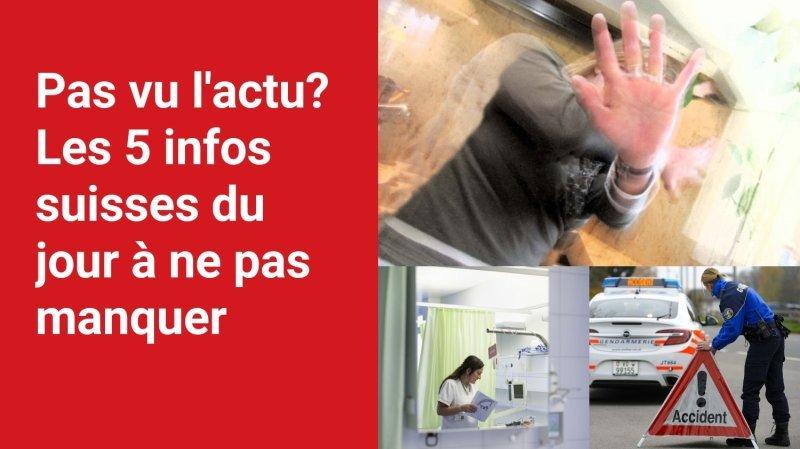 Les 5 infos à retenir dans l'actu suisse de ce jeudi 16 septembre