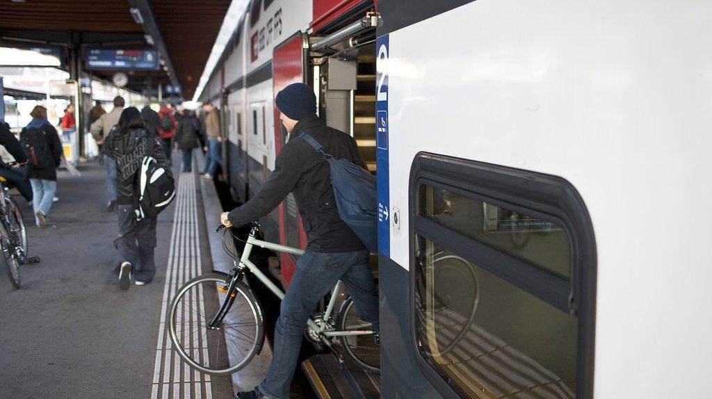 CFF: pétition contre la réservation obligatoire pour les vélos dans les trains InterCity