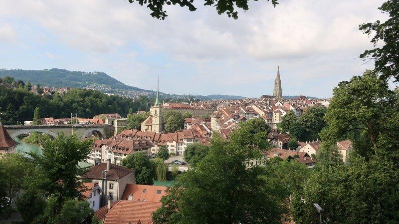 Evasion: flâner à Berne, au sec