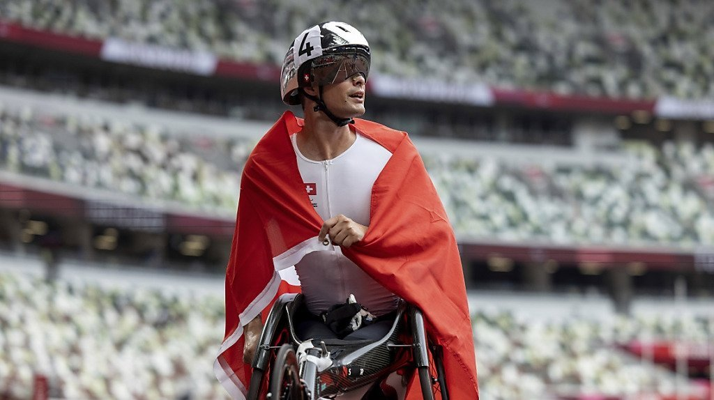 Marcel Hug a cueilli mardi un 2e titre aux Paralympiques de Tokyo.