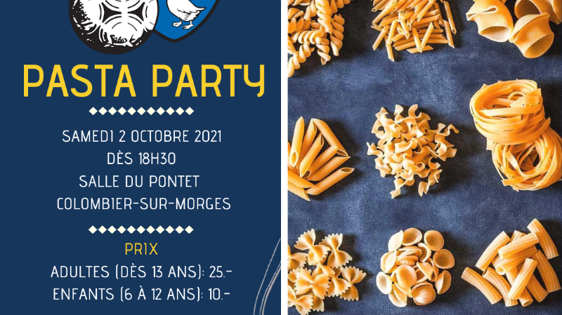 Pasta party du FC Echichens
