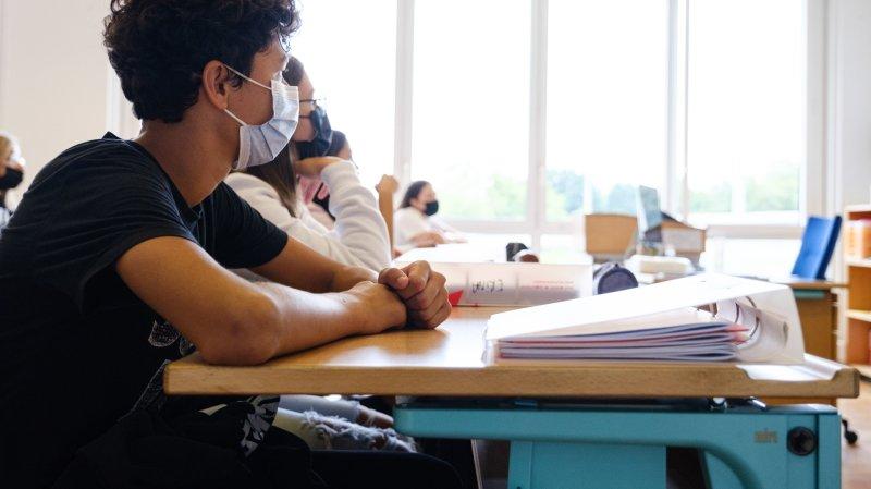 Les élèves devront porter le masque jusqu'en octobre, comme ici au collège des Rojalets.