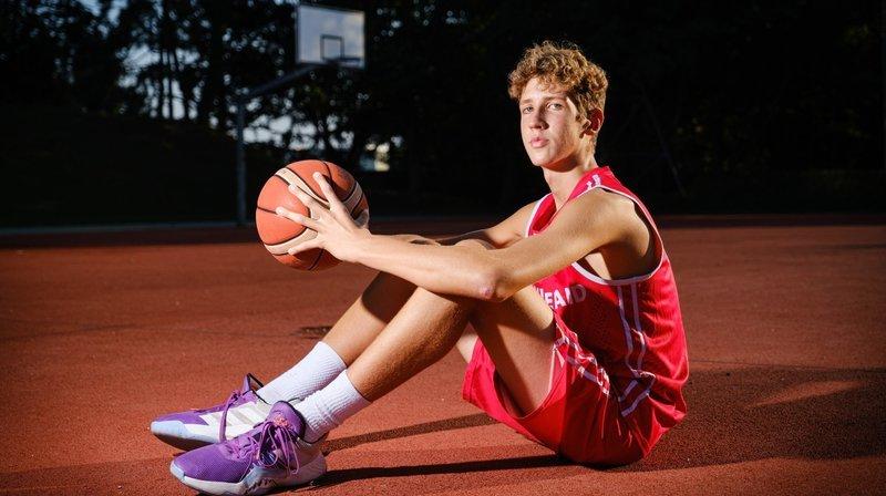 Ce jeune basketteur morgien a réalisé son rêve avec l'équipe de Suisse