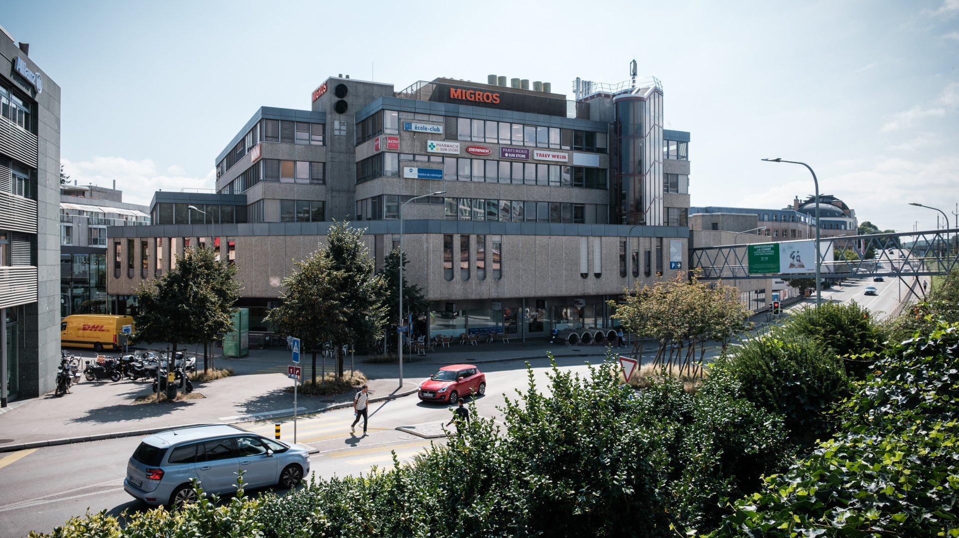 Il y a 40 ans, La Combe devenait le premier centre commercial de la région