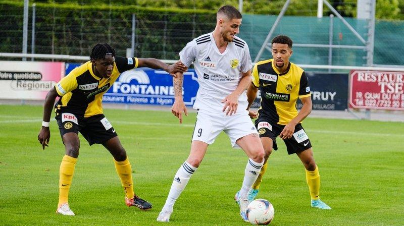 Le Stade Nyonnais offre un point à Carouge