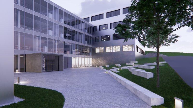 Le gymnase de Bussigny a été inauguré.