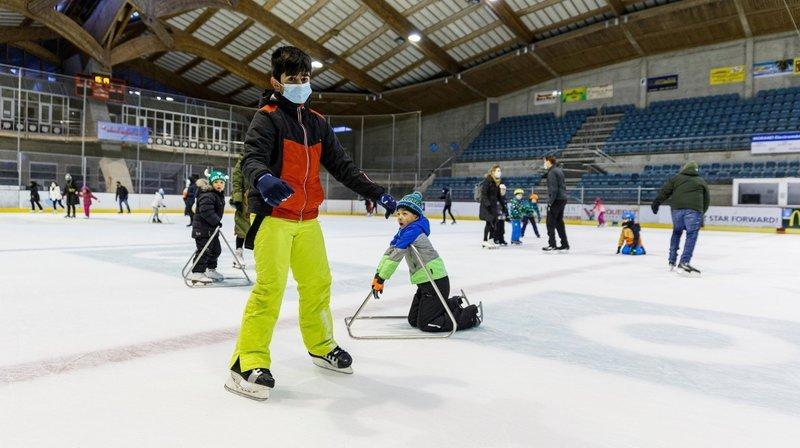 La patinoire de Morges est à nouveau en service