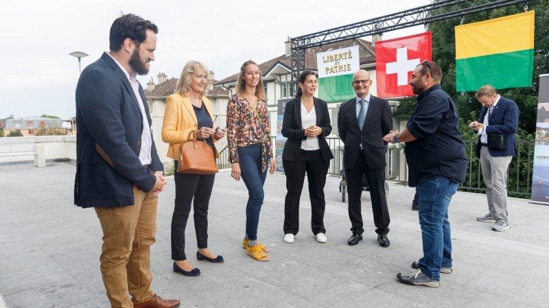 Réunie vendredi 10 septembre à la gare pour accueillir Guy Parmelin, la Municipalité fait le point sur ses efforts après la cyberattaque du printemps dernier.