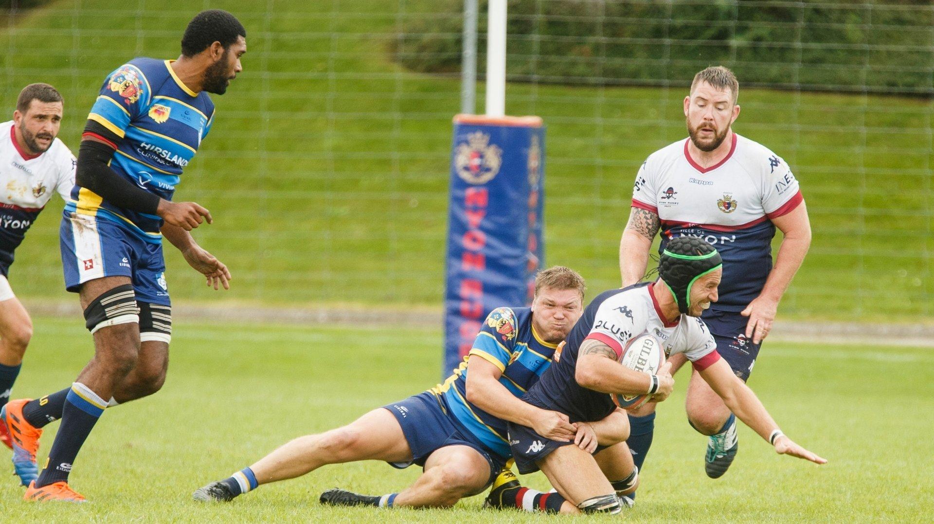 Le Nyon Rugby Club finit par céder face à GePLO
