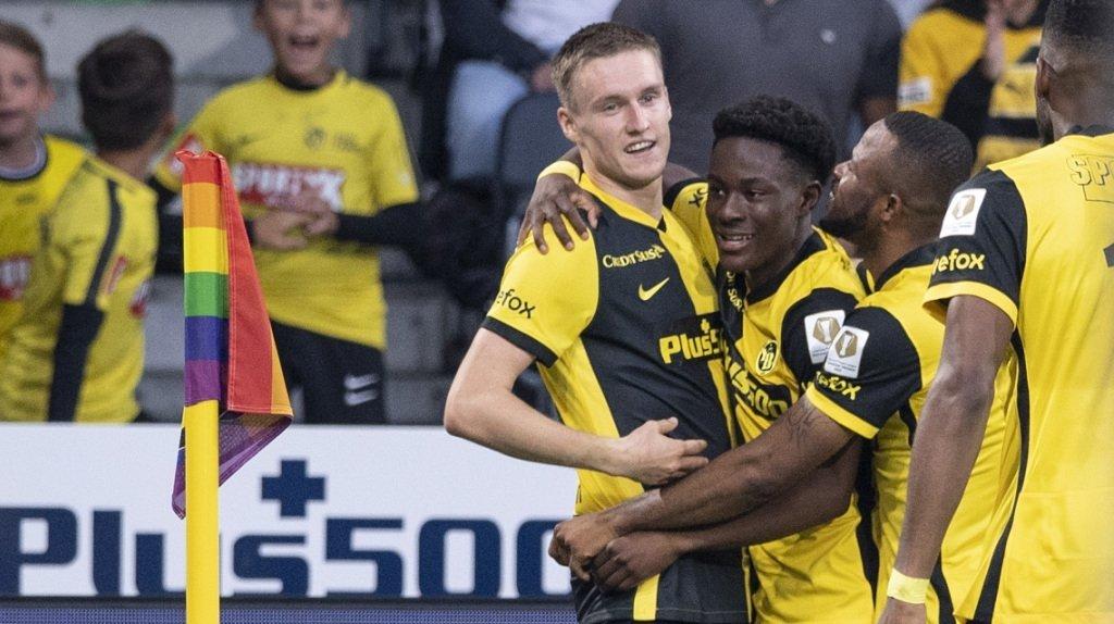 Football: Young Boys signe son troisième succès d'affilée en battant St-Gall