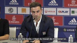 L'Olympique Lyonnais a présenté Xherdan Shaqiri