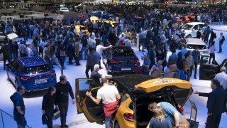 Le Salon de l'auto de Genève relancé prudemment en 2022