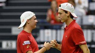 Tennis – Coupe Davis: la Suisse disputera les barrages du groupe I et rêve de tableau final