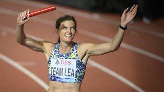 Un dernier Athletissima riche en émotions pour Lea Sprunger