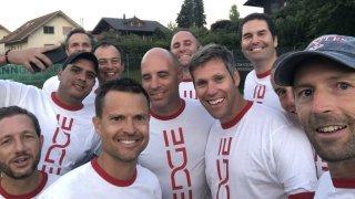 A Bonmont, une équipe de tennismen mate les plus grands clubs du pays