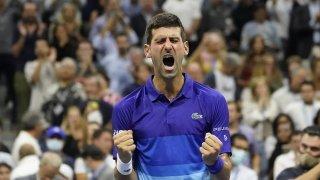 Tennis - US Open: Djokovic rejoint Medvedev en finale et est à une victoire du Grand Chelem