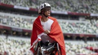 Jeux Paralympiques: Marcel Hug remporte l'or sur 1500 m