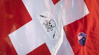 Manif devant l'Uni de Berne, ski alpin dans le Tyrol, le pape en Slovaquie: la galerie photos du 13 septembre 2021