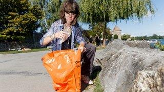 Perroy: pour son travail de matu, elle transforme les déchets en art