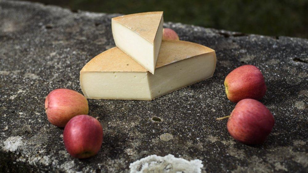 """Le fromage de chèvre """"La Biquette"""", élaboré par Serge Kusner à Gimel, a été primé au Concours suisse des produits du terroir."""