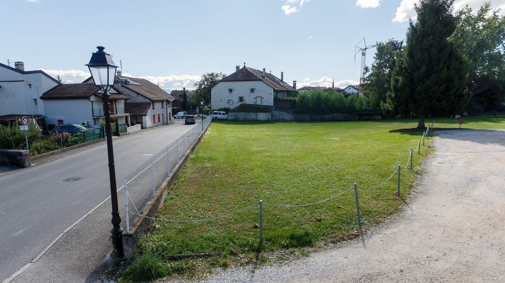 La parcelle 129, voisine du quartier des écoles et de l'UAPE, ne sera pas cédée dans l'immédiat à la fondation Equitim pour la construction de logements à loyer abordable.