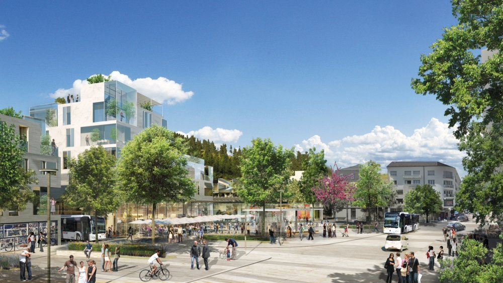 Les prémices du projet d'écoquartier remontent à 2014-2015.