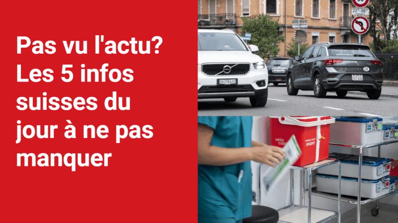 Les 5 infos à retenir dans l'actu suisse de ce jeudi 14 octobre
