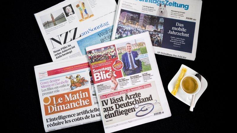 Revue de presse: pénurie d'électricité, certificat Covid, affaire de chantage sur Berset… les titres de ce dimanche