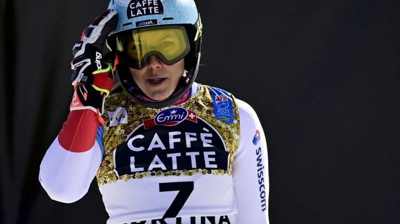 Ski alpin: blessée, Wendy Holdener à l'arrêt pour plusieurs semaines
