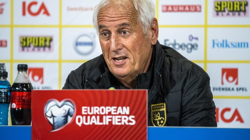 Football: le Neuchâtelois Bernard Challandes licencié de l'équipe du Kosovo