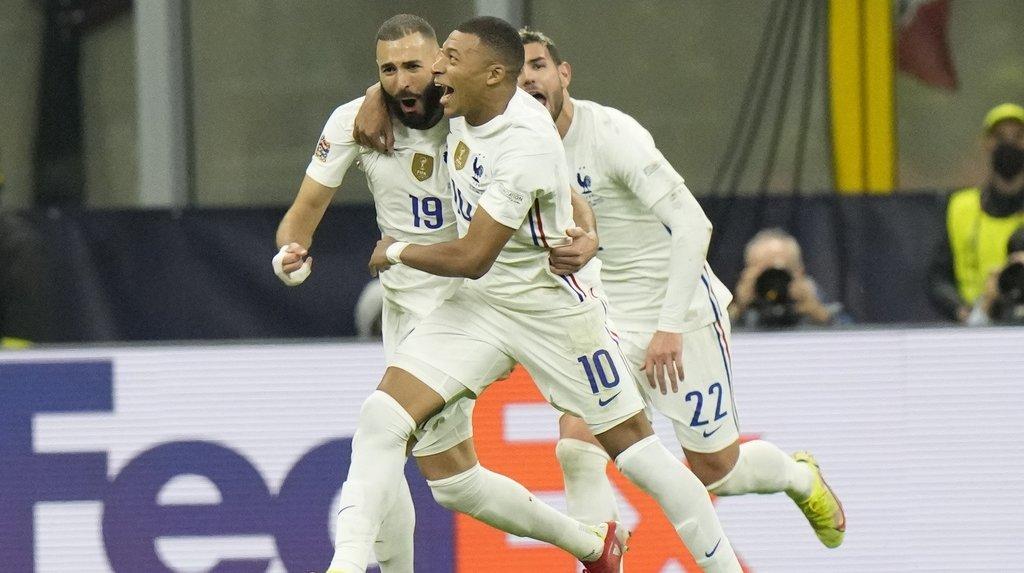 Football: la France bat l'Espagne et remporte la Ligue des nations