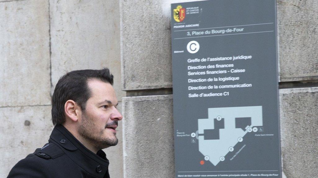 Le procès en appel de Pierre Maudet s'est ouvert à Genève