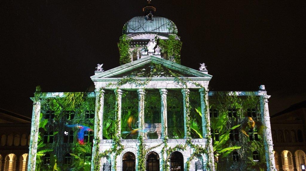 Rendez-vous Bundesplatz: spectacle son et lumière de retour sur la Place fédérale