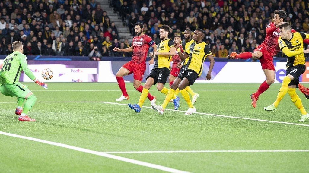Football – Ligue des champions: Young Boys s'incline face à Villarreal à Berne