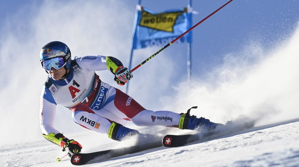 Ski alpin – Géant de Sölden: Odermatt et Caviezel en embuscade, Murisier et Meillard hors du top 10 provisoire