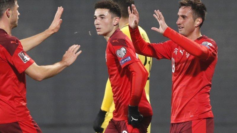Football – Qualifs Mondial 2022: l'équipe de Suisse ne laisse aucune chance à la Lituanie