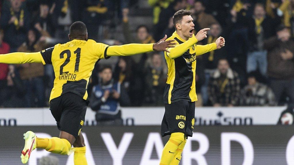 Football: Young Boys s'impose face à un bon Lausanne, le derby zurichois finit sur un match nul