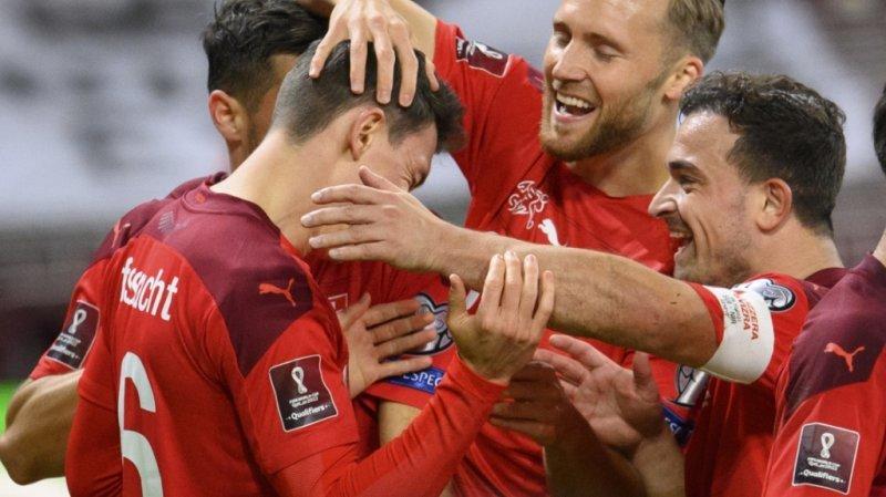 Football – Qualifs Mondial 2022: l'équipe de Suisse s'impose face à l'Irlande du Nord