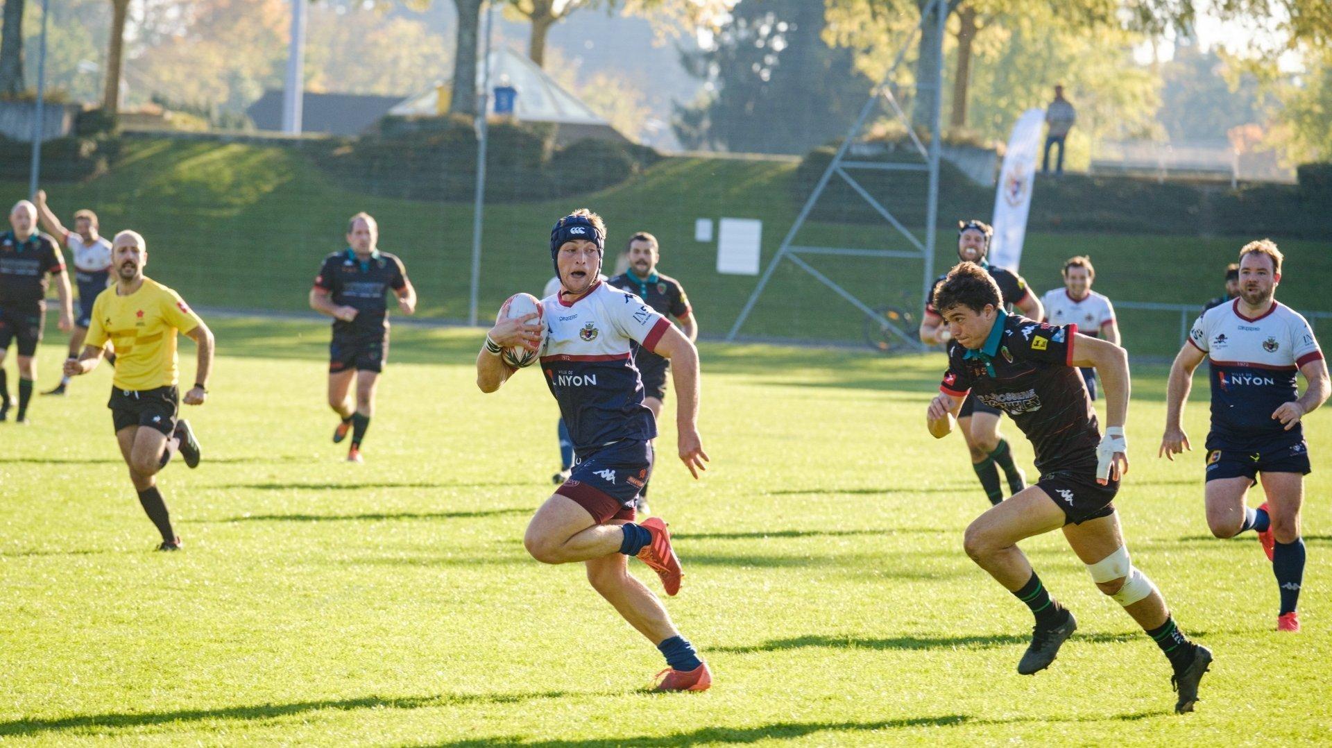 Vainqueur d'Hermance, le Nyon Rugby Club ne s'arrête plus