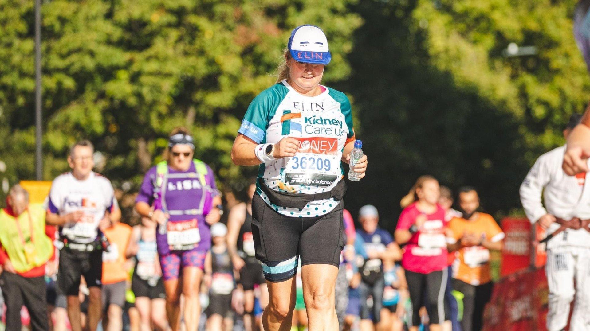 Gland: 3 ans après avoir donné un rein, elle court le marathon de Londres