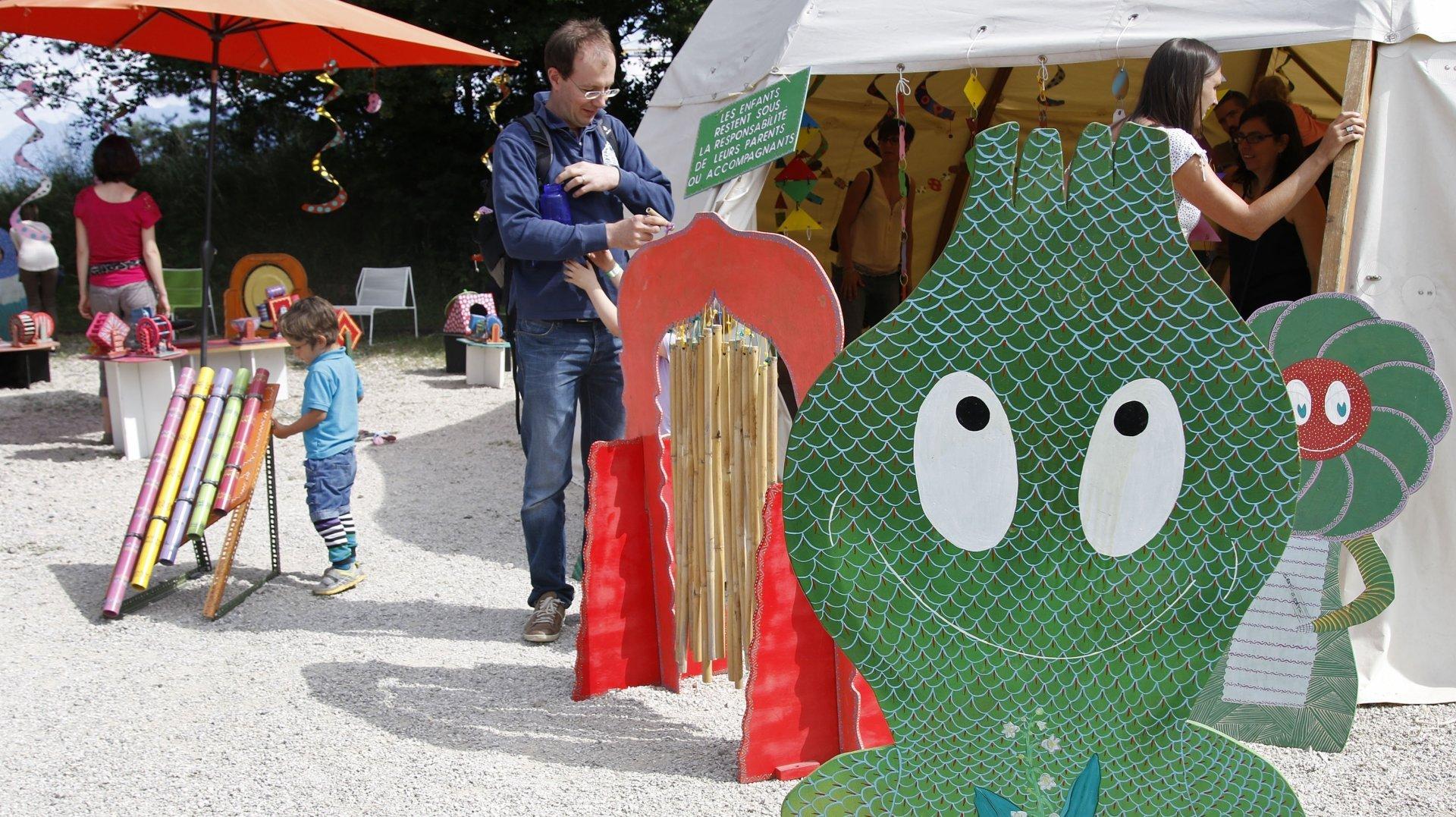 Dans sa version redimensionnée, la manifestation a pu accueillir tout au long du week-end 700 enfants et adultes par demi-journée (photo d'illustration).