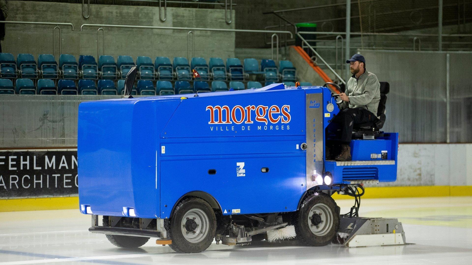 La patinoire des Eaux-Minérales sera fermée à partir du 8 octobre.