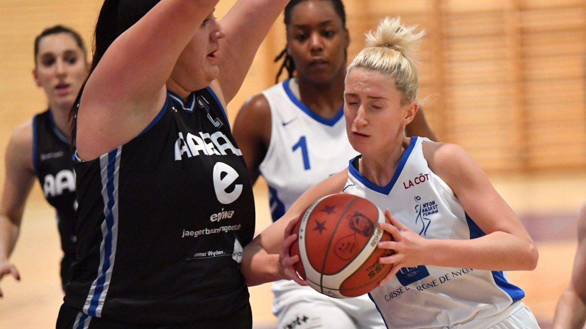 Le Nyon Basket Féminin cartonne d'entrée
