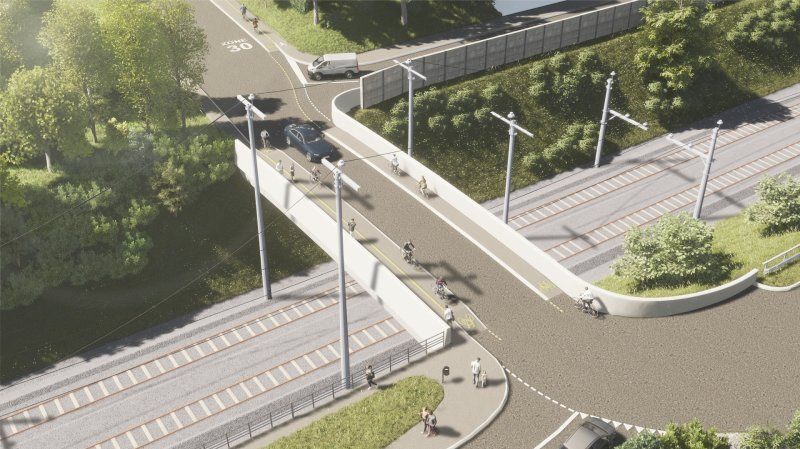 Nyon: les travaux d'élargissement du pont de la Redoute ont commencé